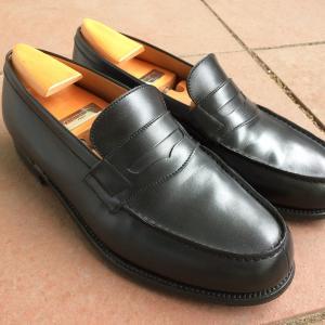 【JMウェストンをガシガシ履ける靴に改造する】 180ローファーにハーフソールを貼る 【前編】