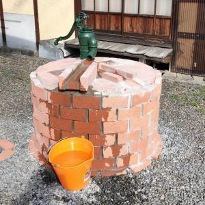 古井戸の再生 その3 深井戸用手押しポンプを設置(東温市横河原)