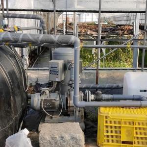 受水槽への送水制御方法を変更