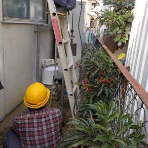 水の出が悪くなったため井戸を掘り直し&ポンプも取替!(伊予郡砥部町)