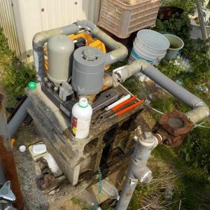 農業用井戸の洗浄とポンプ取替(松山市正岡神田)