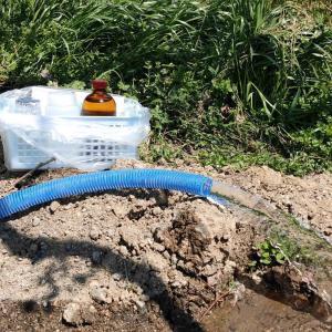 水質検査!良質な地下水でした♪