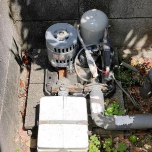 低稼働率のポンプトラブル(松山市朝生田町)