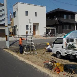 地下水発見ならず・・・井戸掘り断念(松山市朝日ヶ丘)
