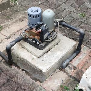 老朽化した家庭用ポンプの取替(伊予郡松前町)