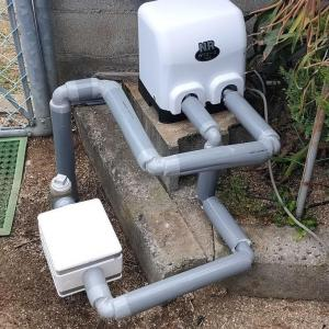 老朽化のためポンプ取替(松山市西長戸町)