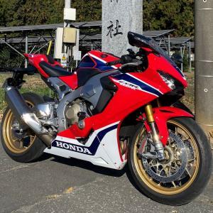 CBR1000RR ツーリング(埼玉県美里町・神川町)