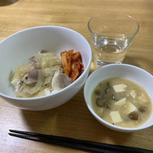 【料理】午饭是猪肉盖饭