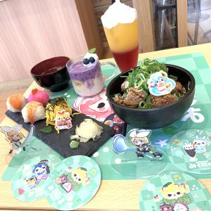 【アニメイトカフェ】「原宿カワイーヤ」の『みくにくま』コラボカフェに行ってきました!