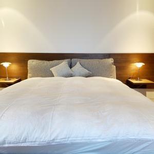 山の家 インテリア bedroom