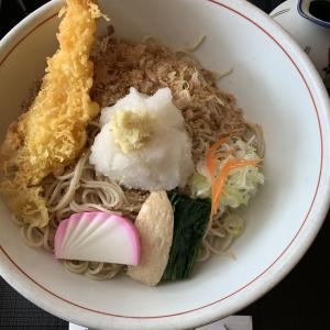 2019年日本バドミントン協会審判講習を受験しお昼は近くの信夫庵(閉店)で蕎麦を頂きました