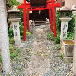 福田パンを買いに行ったら天気の子に出てきそうな感じの神社を見つけてしまった