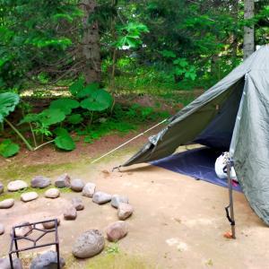 ソロキャンプをしました