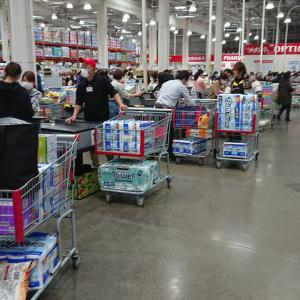 【画像】テッシュ買い占め、全国で発生している模様 日本国民ガチで馬鹿すぎだろ…