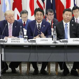 安倍、中国に喧嘩売る。「米中だったら米国を選ぶ」と言い放つ