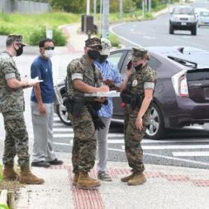 琉球新報「米軍に撮影するなと言われました。基地外なのにおかしい」