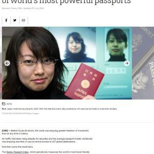 【速報】 米CNN 「世界でも最も信用できる国籍は日本人」 世界に通知