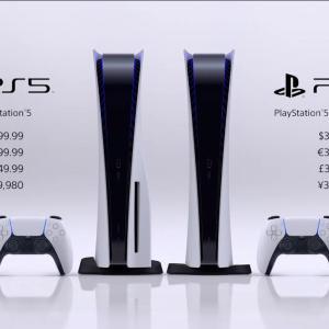 【速報】PlayStation5の発売日と価格が発表 11月12日で4万9980円と3万9980円! おまえらどっち買う?