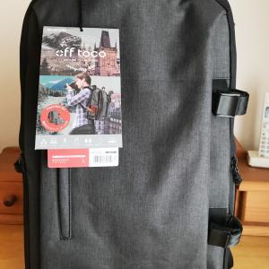 初めてバックパックを買ってみた。