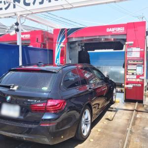 コイン洗車で良いのか?