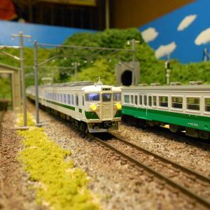 龍王鉄道入線車輛 カトー455系(グリーンライナー)