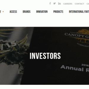 最近のキャノピーグロース(CGC)はなぜ株価が上がってるのかな?