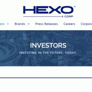 ヘクソコープ(HEXO)の企業情報と株式を購入するかどうか