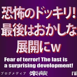 恐怖のドッキリ!最後はおかしな展開にw -Fear of terror! The last is a surprising development!-