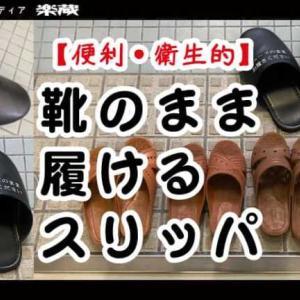 【便利・衛生的】靴のまま履けるスリッパ