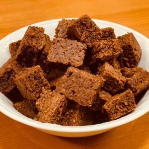 【ビックリマンチョコ大量消費レシピ】ビックリブラウニーがふんわり美味しすぎ♪