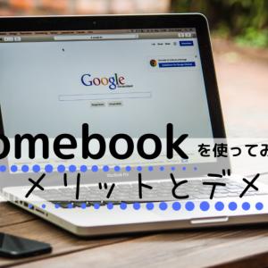Chromebookを使ってみた感想とメリット・デメリット【2020年1月から使っています】