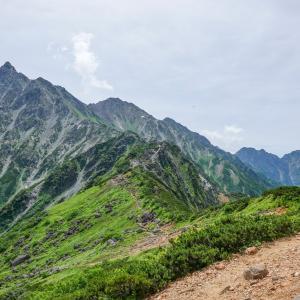 裏銀座縦走感動のフィナーレ・西鎌尾根から槍ヶ岳を登る
