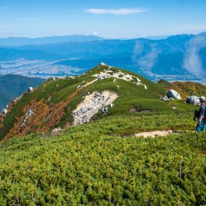 奇跡!?奇石の空木岳・駒ヶ根高原スキー場から紅葉の空木岳を登る(前編)