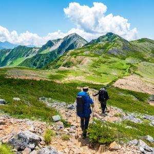 裏銀座縦走2日目・ワリモ岳、鷲羽岳リベンジ登山