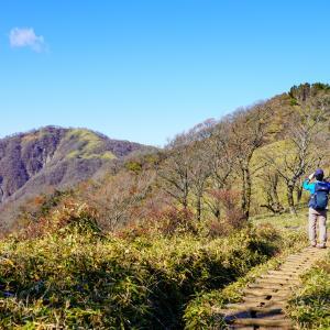 表尾根縦走コースから晩秋の塔ノ岳・丹沢山を登る(うわさの彼女の失踪事件の謎を追う)
