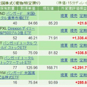 【不労所得で月5万円への道6】VTより配当金