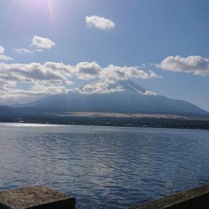 その59:「富士山見に行こっ!山中湖グルっと一周散歩&しじみラーメン」の巻