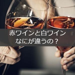 赤ワインと白ワインってなにがどう違うの?