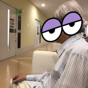 7月のある日、総合病院にて