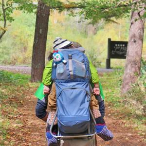 上高地をベビーキャリアで散策。肢体不自由児、初めてのアウトドア遠征。