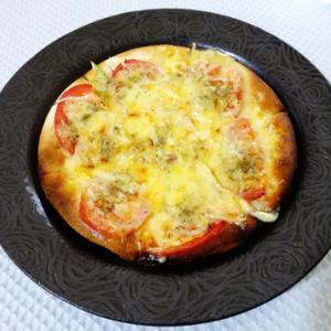 生協の野菜・相変わらず欠品多し★残り野菜でトマトピザ