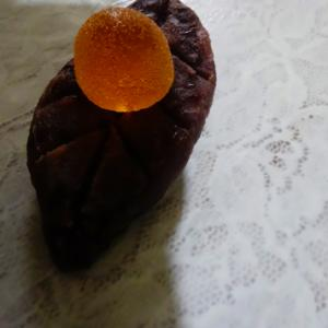粒餡と★たんかんゼリー