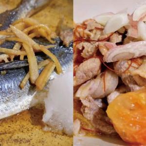 イワシのあまから生姜煮込み&ご飯がすすむ肉トマト