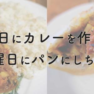 【レシピ】土曜のカレーを日曜のカレーパンに【最高の暇つぶし料理】