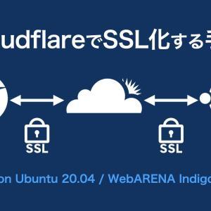 CloudflareでSSL化の手順(ブラウザ↔プロキシ↔オリジン)on Ubuntu