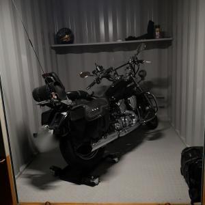 バイクコンテナの状態