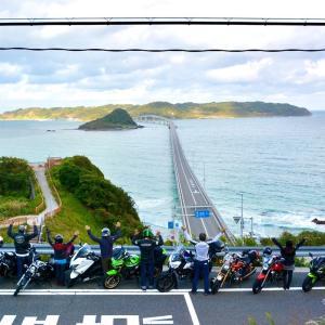 2020年10月 R35ツーリングクラブ 山口県角島 宿泊ツーリング