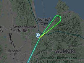 青森空港はどっから着陸する?