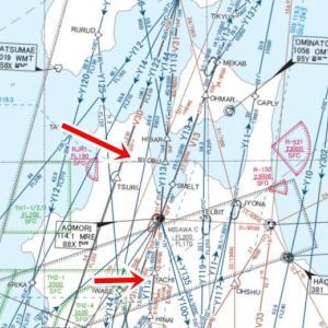航空図を手に入れる。