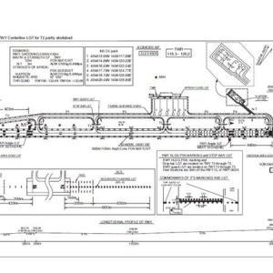 青森空港の出発経路地図をタウンロードする。